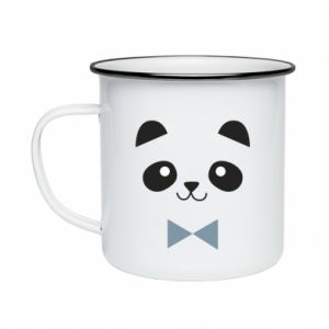 Enameled mug Panda guy
