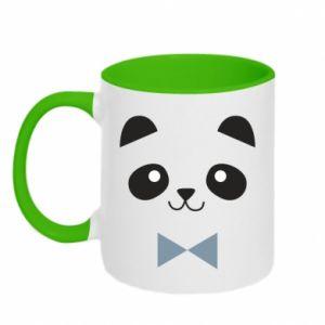 Kubek dwukolorowy Panda guy