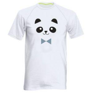 Men's sports t-shirt Panda guy - PrintSalon