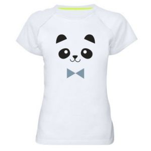 Women's sports t-shirt Panda guy - PrintSalon