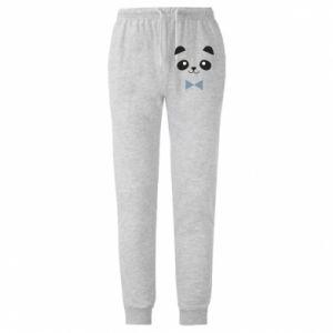 Męskie spodnie lekkie Panda guy