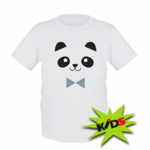 Dziecięcy T-shirt Panda guy