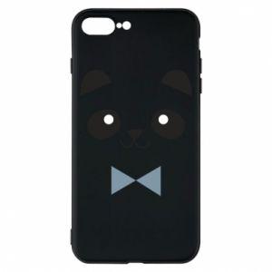 Phone case for iPhone 8 Plus Panda guy - PrintSalon