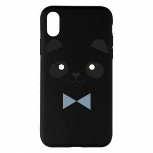 Phone case for iPhone X/Xs Panda guy - PrintSalon