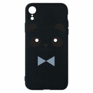 Phone case for iPhone XR Panda guy - PrintSalon