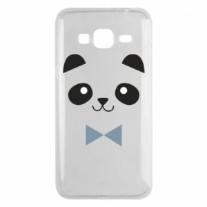 Phone case for Samsung J3 2016 Panda guy - PrintSalon