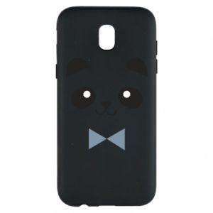 Phone case for Samsung J5 2017 Panda guy - PrintSalon