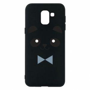 Phone case for Samsung J6 Panda guy - PrintSalon