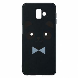 Phone case for Samsung J6 Plus 2018 Panda guy - PrintSalon