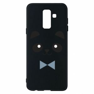 Phone case for Samsung A6+ 2018 Panda guy - PrintSalon