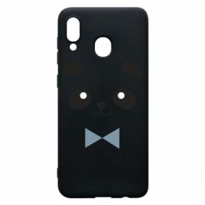 Phone case for Samsung A20 Panda guy - PrintSalon