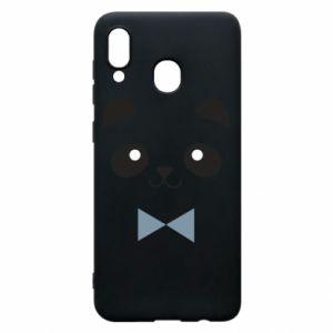 Phone case for Samsung A30 Panda guy - PrintSalon