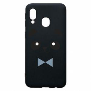 Phone case for Samsung A40 Panda guy - PrintSalon