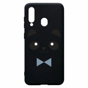 Phone case for Samsung A60 Panda guy - PrintSalon
