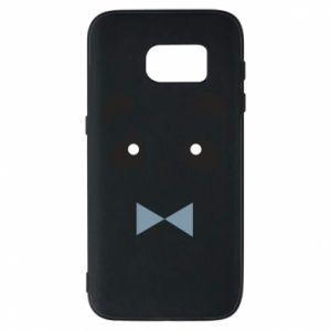 Phone case for Samsung S7 Panda guy - PrintSalon