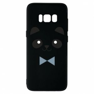 Phone case for Samsung S8 Panda guy - PrintSalon