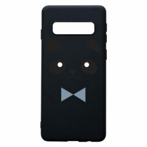 Phone case for Samsung S10 Panda guy - PrintSalon