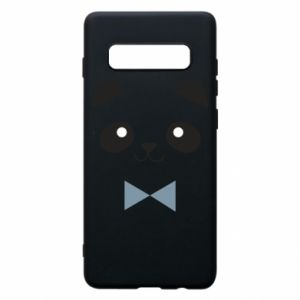 Phone case for Samsung S10+ Panda guy - PrintSalon