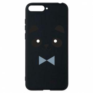 Phone case for Huawei Y6 2018 Panda guy - PrintSalon