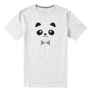 Men's premium t-shirt Panda guy - PrintSalon
