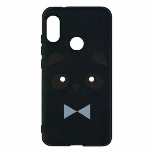 Phone case for Mi A2 Lite Panda guy - PrintSalon