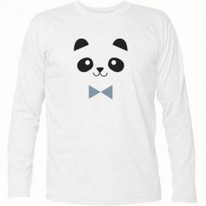 Long Sleeve T-shirt Panda guy - PrintSalon
