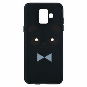 Phone case for Samsung A6 2018 Panda guy - PrintSalon