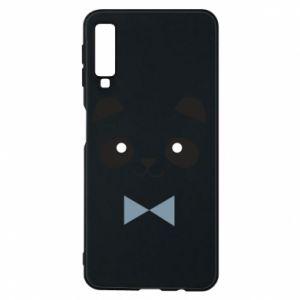 Phone case for Samsung A7 2018 Panda guy - PrintSalon