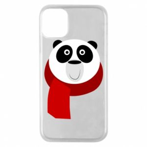 Etui na iPhone 11 Pro Panda in a color scarf