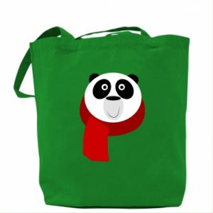 Bag Panda in a color scarf - PrintSalon