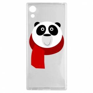 Etui na Sony Xperia XA1 Panda in a color scarf