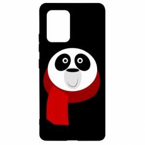 Etui na Samsung S10 Lite Panda in a color scarf