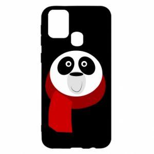 Etui na Samsung M31 Panda in a color scarf