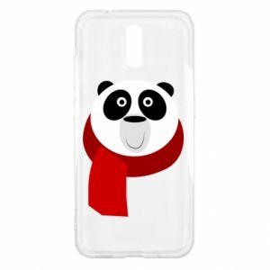 Etui na Nokia 2.3 Panda in a color scarf
