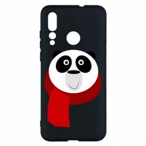 Etui na Huawei Nova 4 Panda in a color scarf