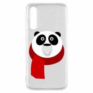 Etui na Huawei P20 Pro Panda in a color scarf