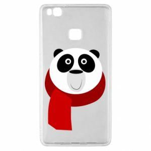Etui na Huawei P9 Lite Panda in a color scarf
