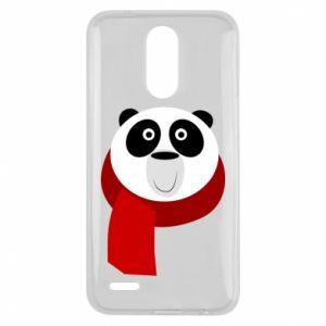 Etui na Lg K10 2017 Panda in a color scarf