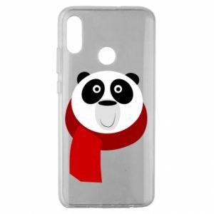 Etui na Huawei Honor 10 Lite Panda in a color scarf