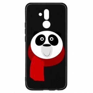 Etui na Huawei Mate 20 Lite Panda in a color scarf