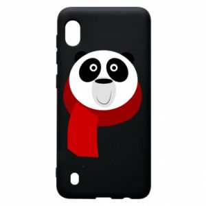Etui na Samsung A10 Panda in a color scarf
