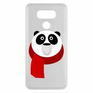 Etui na LG G6 Panda in a color scarf