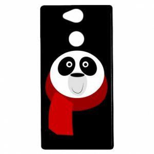 Etui na Sony Xperia XA2 Panda in a color scarf