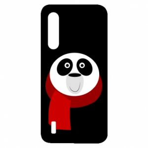 Etui na Xiaomi Mi9 Lite Panda in a color scarf