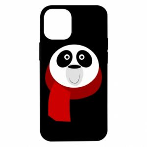 Etui na iPhone 12 Mini Panda in a color scarf