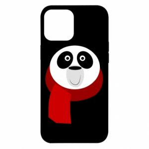 Etui na iPhone 12 Pro Max Panda in a color scarf