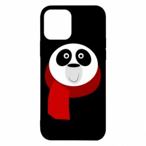 Etui na iPhone 12/12 Pro Panda in a color scarf