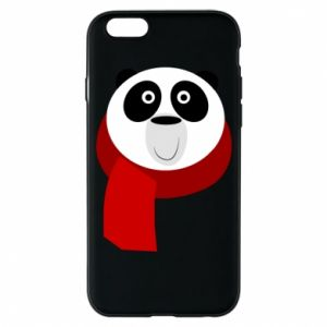 Etui na iPhone 6/6S Panda in a color scarf