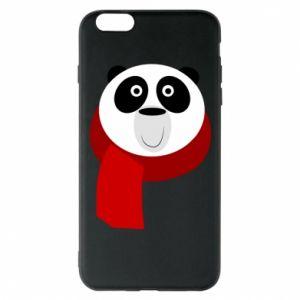 Etui na iPhone 6 Plus/6S Plus Panda in a color scarf