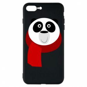 Etui do iPhone 7 Plus Panda in a color scarf